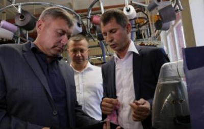 В Рубежном открыли чулочную мануфактуру