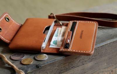 кожаные кошельки и портмоне