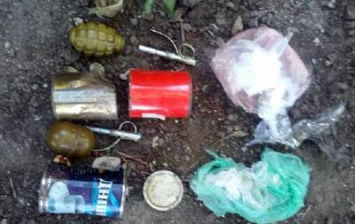 наркотики боеприпасы