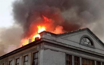 пожар покровск