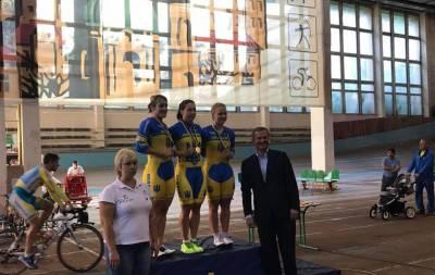 Велоспортсменки Луганщины выбороли 5 медалей чемпионата Украины