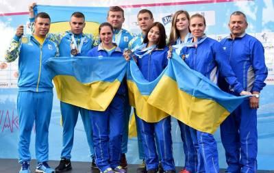 Украинские спортсмены на чемпионате Европы по подводному ориентированию