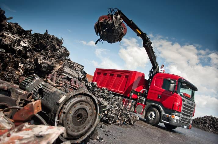 Прием металлолома на рубежной пункт приема черного металлолома в железнодорожном