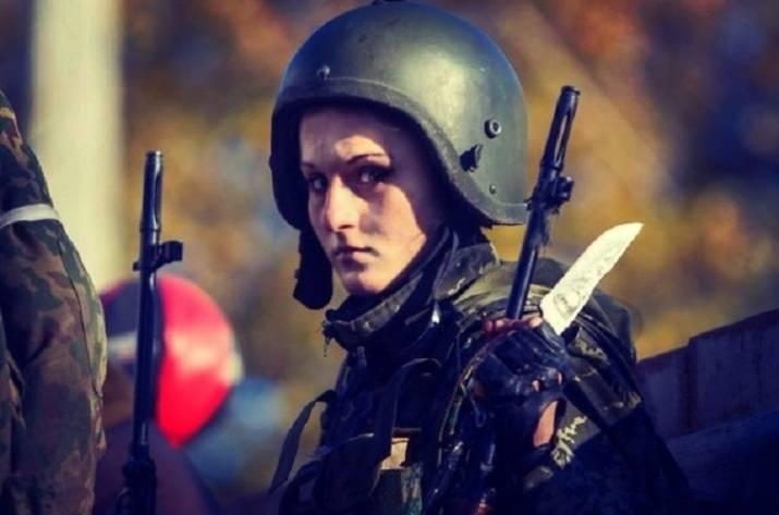 ВДонецке убита «Белоснежка»— девушка Гиви избатальона «Сомали»