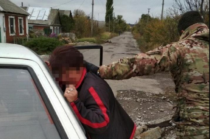 Налинии разграничения арестован информатор «ЛНР»
