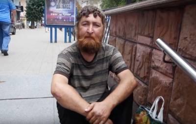 Российский наемник бомжует в Жонецке