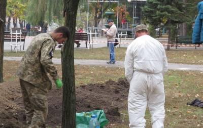 В Мариуполе нашли массовое захоронение немецких солдат
