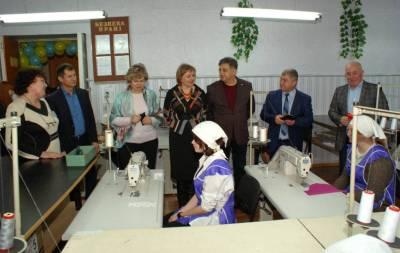Новий навчально-практичний центр з професії «Швачка. Кравець. Закрійник» відкрився у Рубіжному