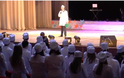 У м. Рубіжне відбулися посвяти першокурсників Луганського медичного університету