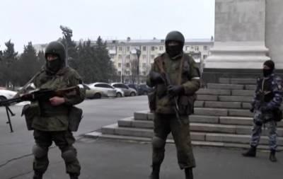 Центр Луганска оцеплен