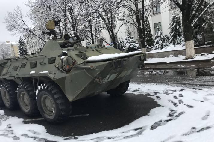 Центр Луганска