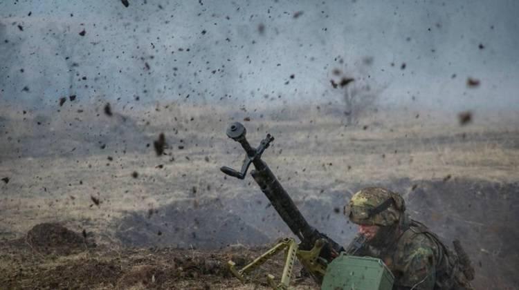 Бой на Донбассе