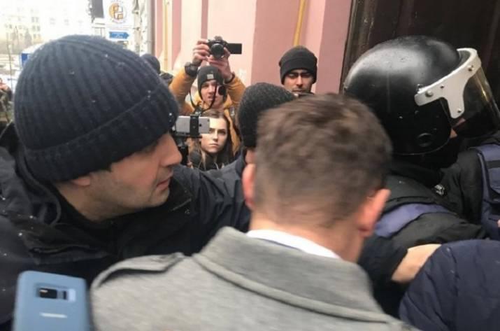 Обыски у Саакашвили