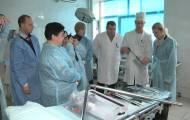 Представники Посольства Республіки Польща передали медичне устаткування до рубіжанської лікарні