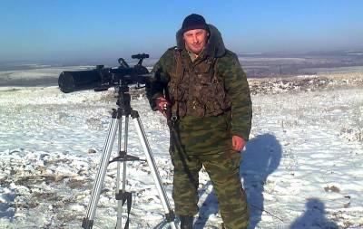 Украинский снайпер ликвидировал боевика Смирнова