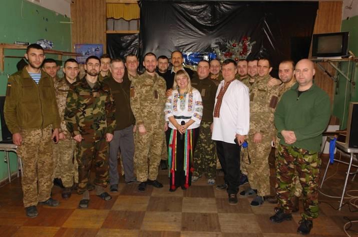 Всеукраїнське товариство «Просвіта» зробило різдвяний подарунок військовим