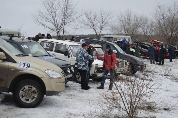На Луганщині відбулися автомобільні змагання по пересічній місцевості