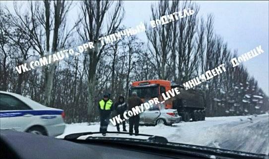 На оккупированном Донбассе произошло смертельное ДТП