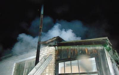 В Беловодском районе Луганщины произошел пожар