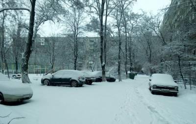 В первый день весны Донбасс заметает (ФОТО)