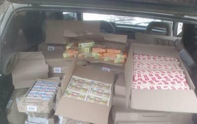 Сыр, мак и масло хотели провезти на оккупированную Луганщину