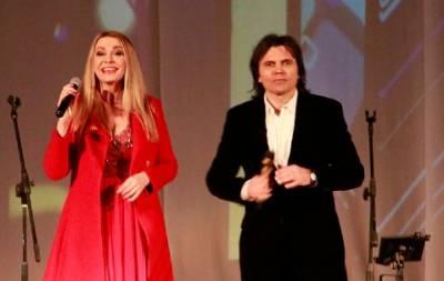В Славянске прошел концерт Ольги Сумской и её супруга