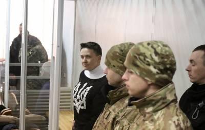 Обвинение требует взять Савченко под стражу без возможности залога