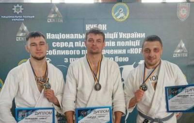 Луганские КОРДовцы завоевали призовые места в соревнованиях Кубка Нацполиции по рукопашному бою