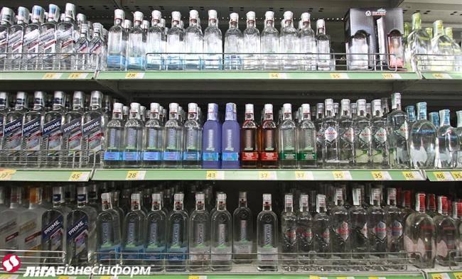 В Украине резко сократилось легальное производство водки и коньяков