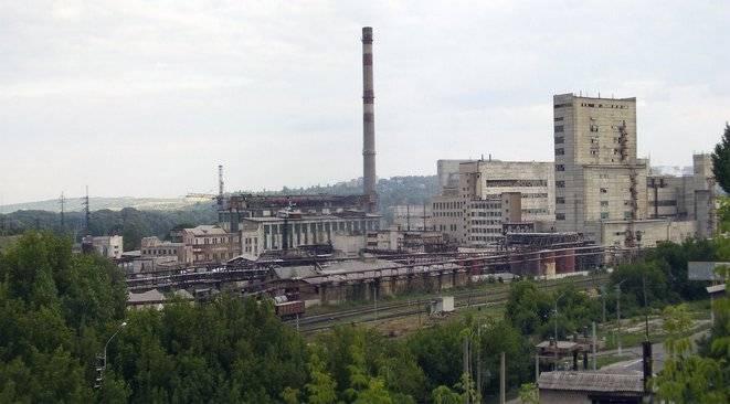 Лисичанского содового завода