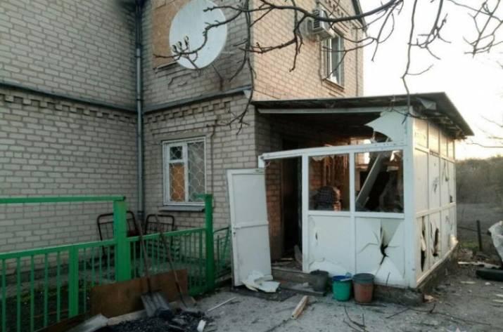 Оккупанты обстреляли Авдеевку (фото)