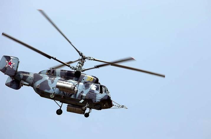 Над Балтийским морем потерпел крушение российский военный вертолет, есть жертвы