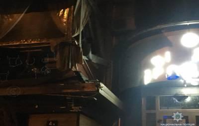 В здание «Киевгорстроя» неизвестные стреляли из гранатомета
