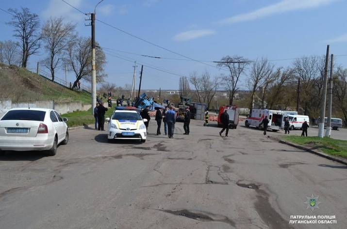 Из-за ДТП в Лисичанске ограничено движение