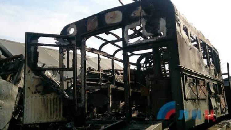 Правда об обстреле военной техники для парада в Луганске