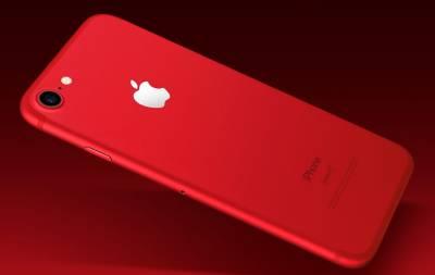 Красные iPhone 8