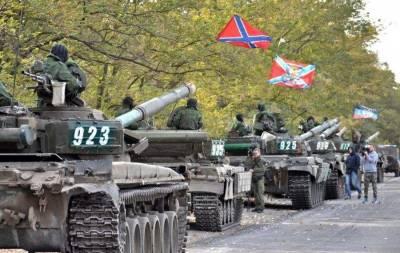 На Донецк прут танки