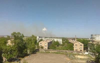 В Балаклее гремят взрывы: очевидцы опубликовали видео