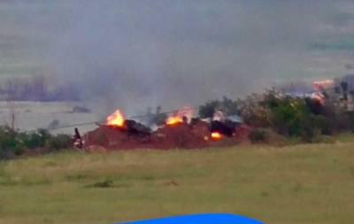 ВСУ нанесли сокрушающий удар по боевикам на Донбассе (фото)