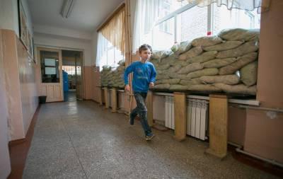 Детский фонд Организации объединённых наций ЮНИСЕФ заявил о количестве пострадавших школ из-за боевых действий на территории Донбасса.