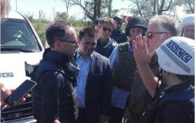 Глава МИД Германии посетил Широкино