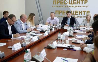 На Луганщине обсудили строительство индустриального парка в Рубежном и электроподстанции в Кременной
