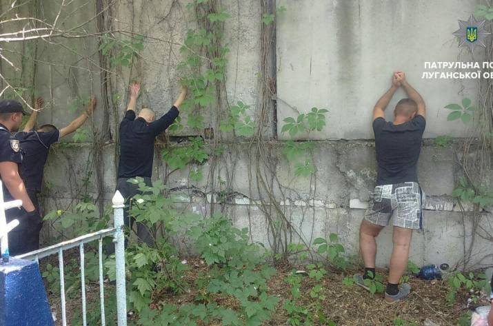 В Северодонецке на старом кладбище изготавливали наркотики