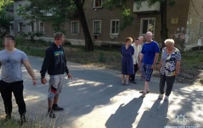 В Рубежном задержали грабителя
