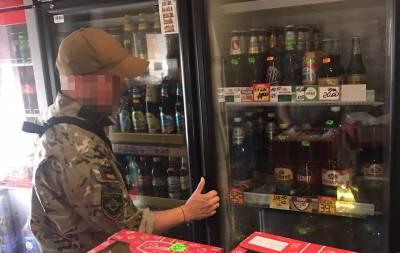 В Луганской области нелегально продавали подакцизные товары