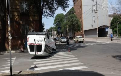 В Мариуполе произошло ДТП с пострадавшими