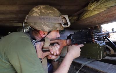 Сожженные дома, вражеский снайпер и бои в освобожденном Южном (видео)