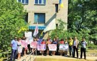 Энергетики провели акции протеста в Рубежном