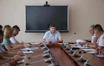 В Луганской облгосадминистрации рассмотрели пути решения ситуации в Рубежном