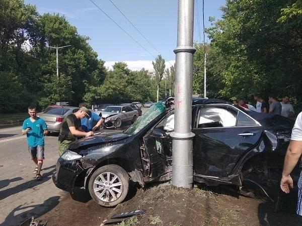 В Макеевке в ДТП попала футбольная команда, есть пострадавшие
